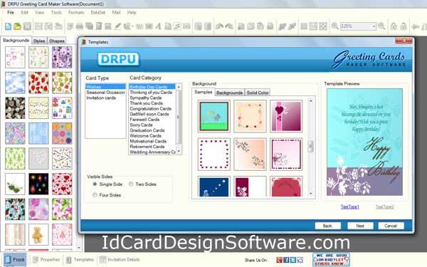 Windows 7 Greeting Card Design Software 8.3.0.1 full