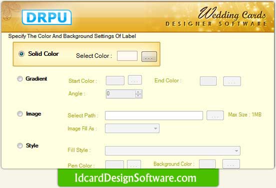 Wedding Card Design Software