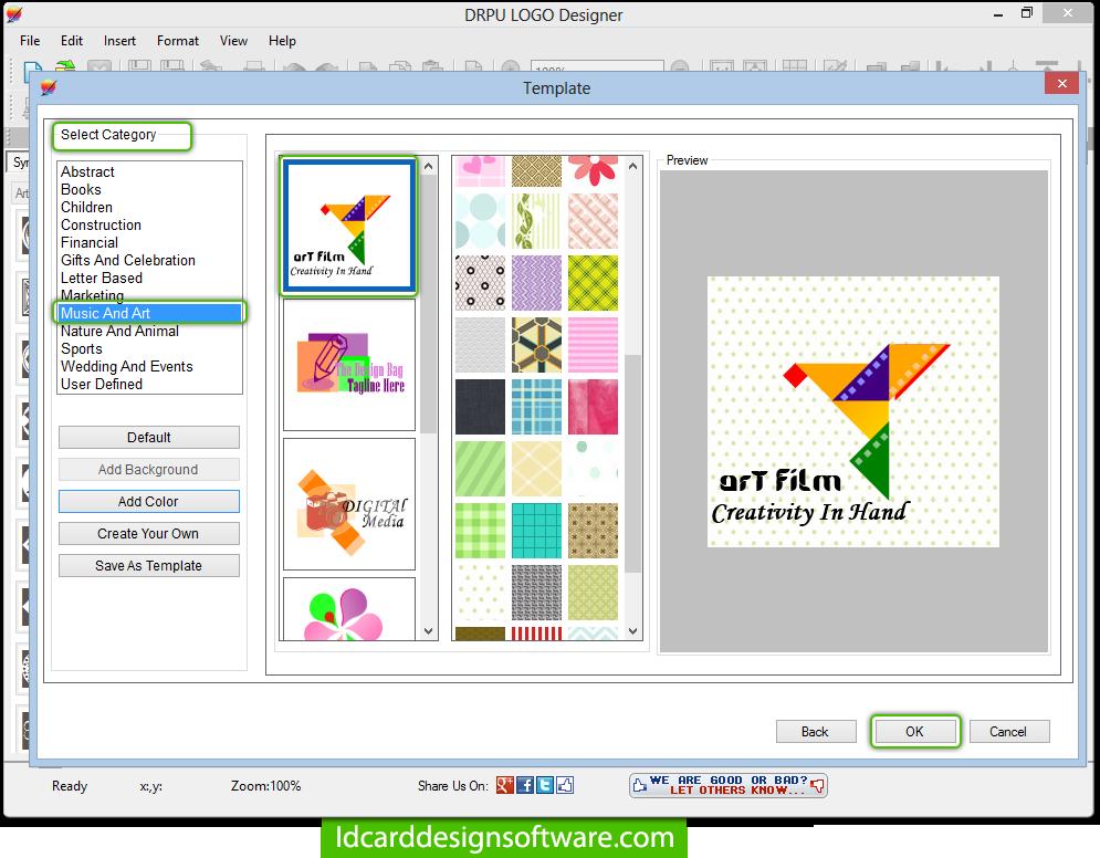 Screenshots For How To Create Business Logos Using Logo